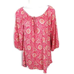 Old Navy Floral Blouse. Size M